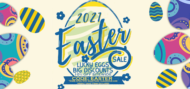 Here's an amazing sale for your Easter Day!