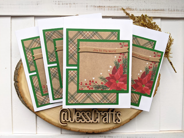 Christmas Card using Michael's Recollections Say Freeze for Jess Crafts Sketch 18