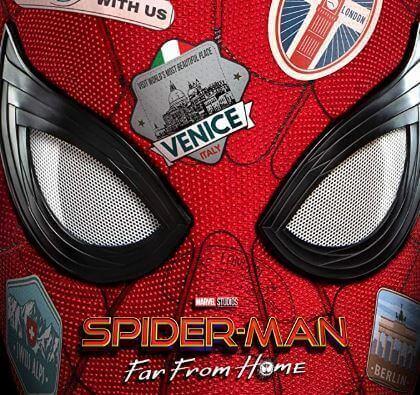 Pôster promocional do filme Homem-Aranha Longe de Casa