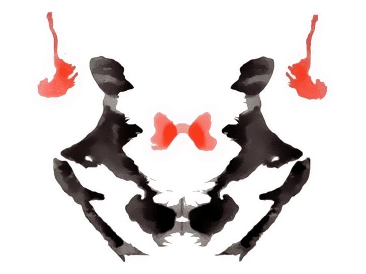 Lámina de Rorschach 3
