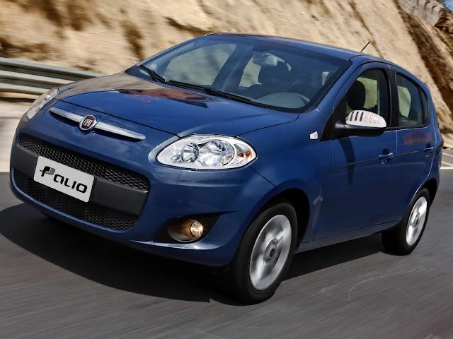 Fiat Palio 2012: carro usado mais vendido de 2016