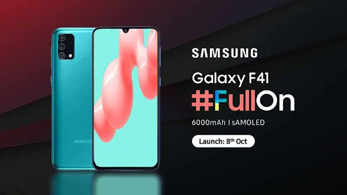 Samsung Galaxy F41 Specifications, Feature & Price
