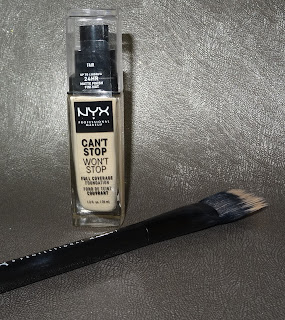 review NYX Can't Stop Won't Stop Foundation Concealer