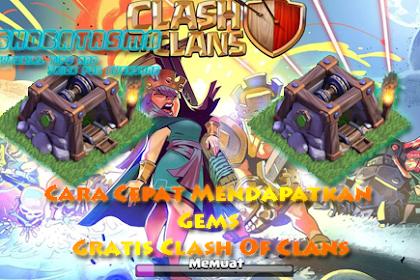 Cara Mendapatkan Gems/Permata Gratis Clash Of Clans 2019