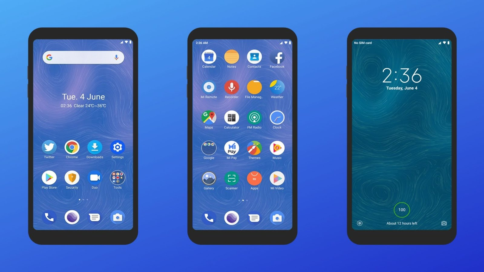 Android Q theme for MIUI Xiaomi devices