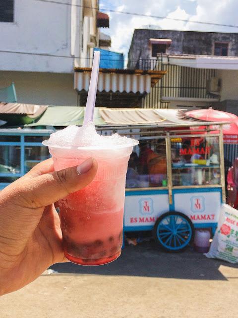 es kacang merah mamat palembang