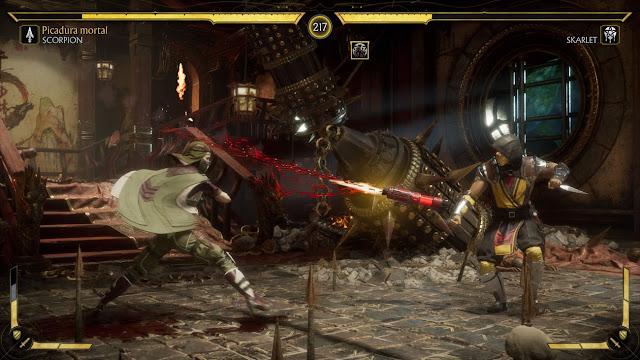 Análisis de Mortal Kombat 11 Ultimate - Combate