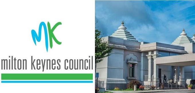 Hindu temple planned in England's Milton Keynes