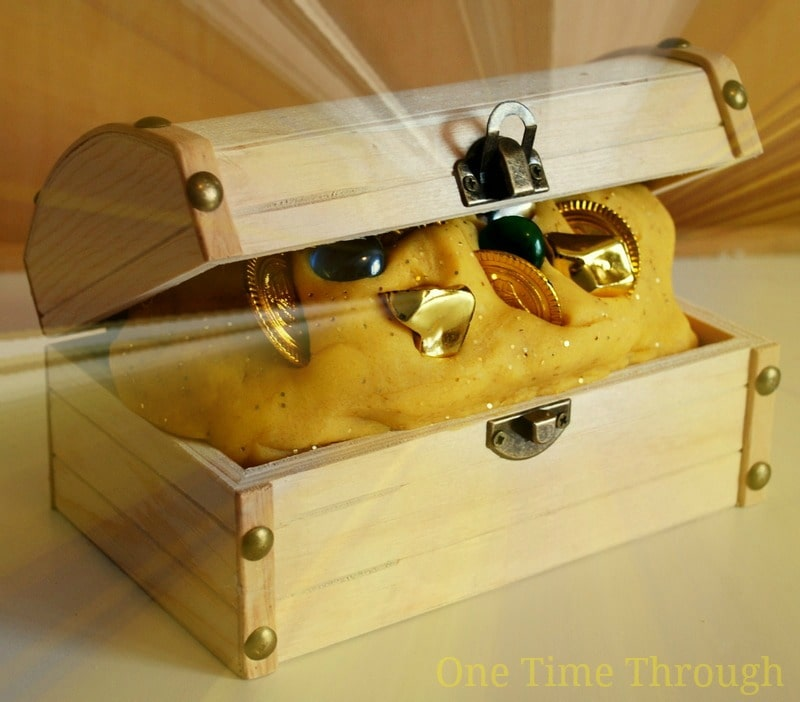 pirate treasure homemade playdough recipe