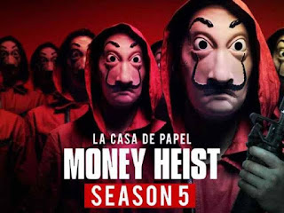 Money Heist Season 5 All episode Download Leaked by Torrent Website Tamilrockers