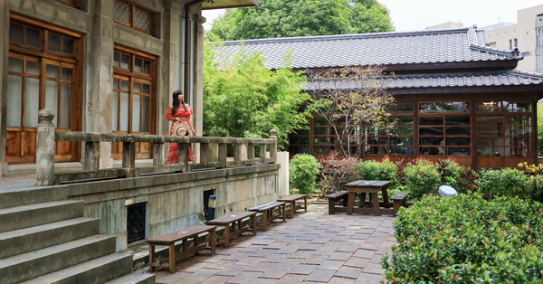 台中刑務所演武場(道禾六藝文化館),台中歷史建築,日式建築好拍