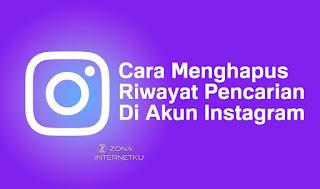 2 Cara Menghapus Riwayat Pencarian Di Akun Instagram