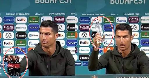Ronaldo के एक इशारे ने Coca-Cola के डूबा दिए 29,300 करोड़ रुपये