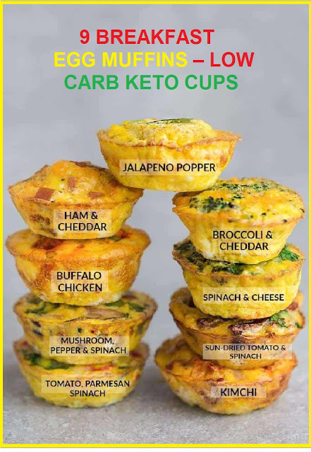 9 BREAKFAST EGG MUFFINS – LOW CARB KETO CUPS
