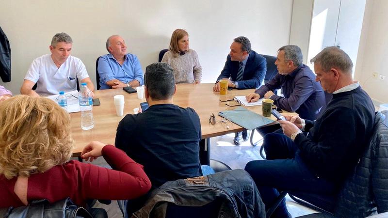 Συνάντηση Σταύρου Κελέτση με τη Διοίκηση και εργαζομένους του Νοσοκομείου Αλεξανδρούπολης