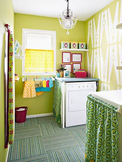 What Best Color To Paint Laundry Room With No Windows