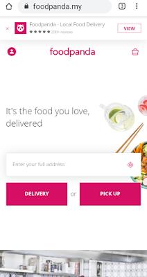 Web foodpanda