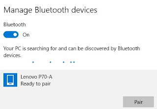 Cara Mengirim File Lewat Bluetooth laptop windows 10