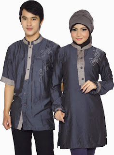 Baju muslim couple modis