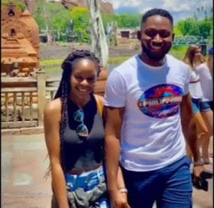 BBNaija Miracle and Fiancee
