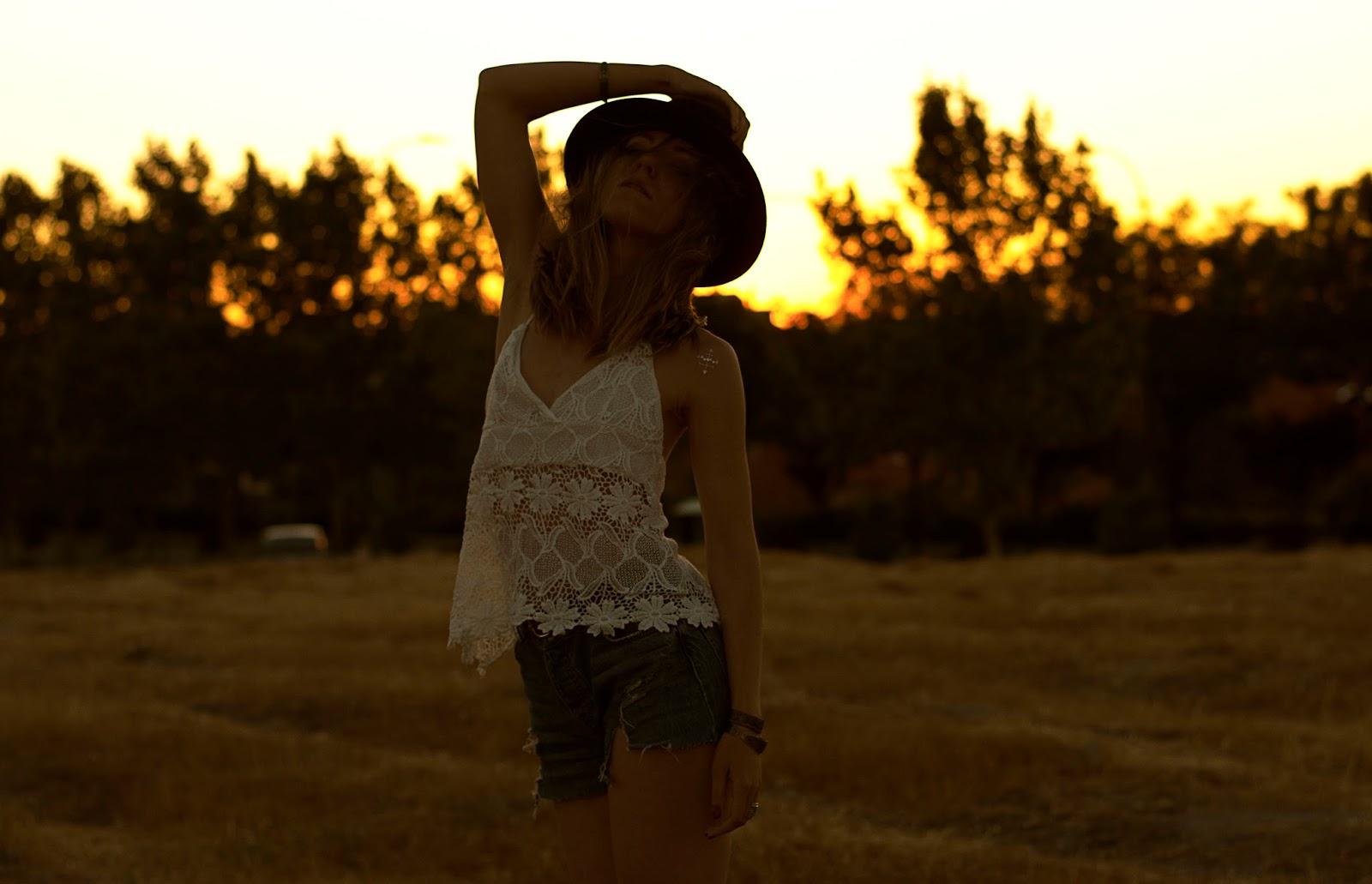 look bohemio verano