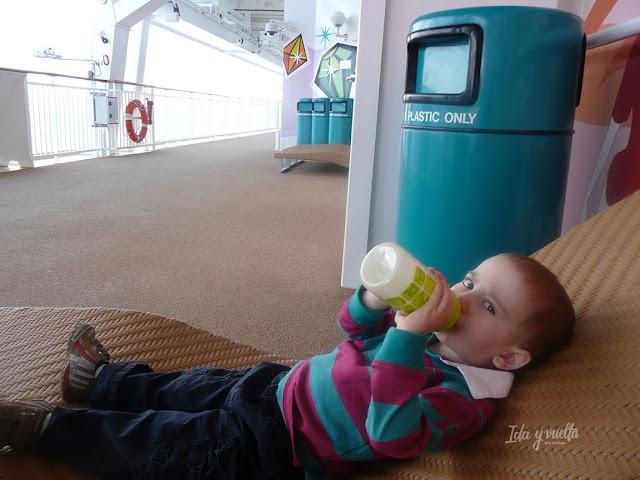 Viajar con niños crucero