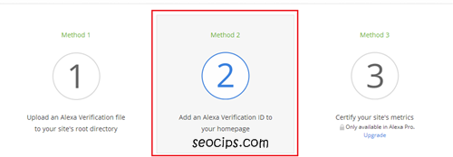 Verification Alexa Rank diBlog