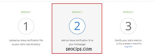 Verification Alexa Rank diBlog