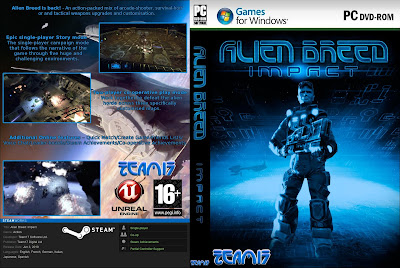 Jogo Alien Breed - Impact PC DVD Capa