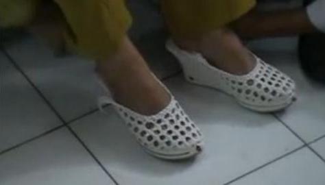 Cewek ini Ciptakan sepatu antikekerasan seks karya anak SMP 1 Bogor