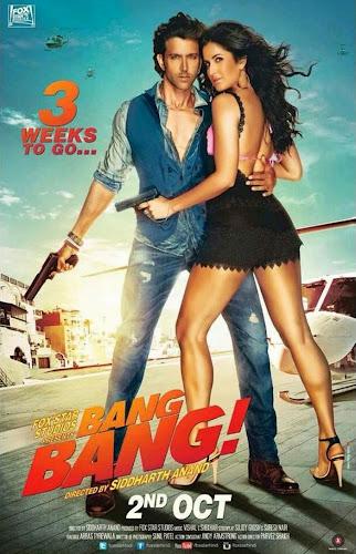 Bang Bang (2014) Movie Poster No. 1