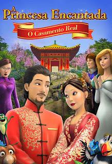 A Princesa Encantada: O Casamento Real - HDRip Dual Áudio