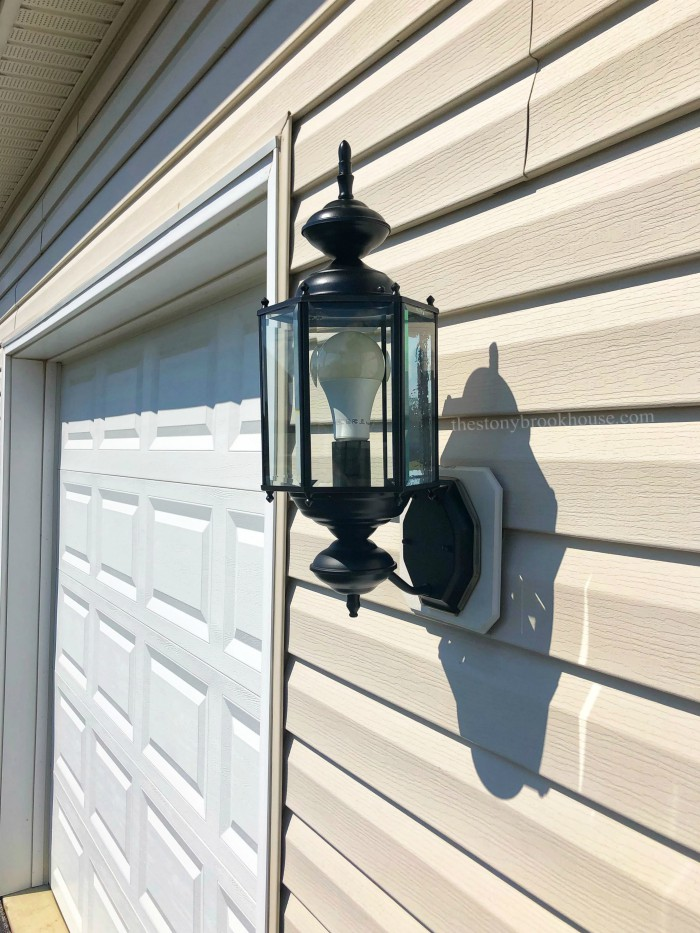 Painted Outdoor Fixture Finished