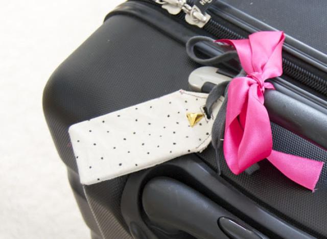 Fita colorida para identificar mala de viagem