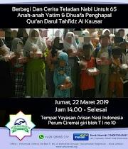 Donasi  Anak anak Yatim dan Dhuafa