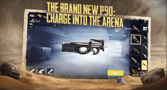 PUBG-Mobile-P90-SMG-Gun
