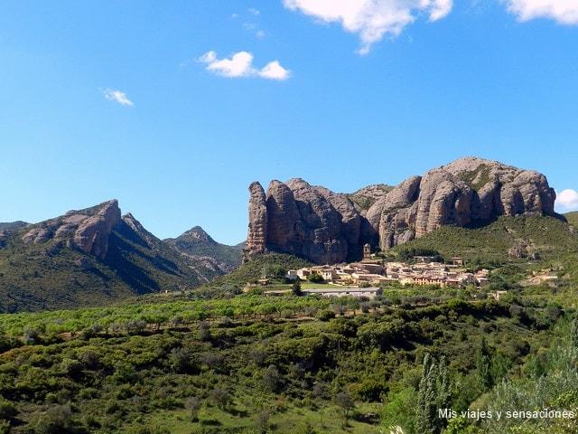Los Mallos de Agüero, Monumento Natural en la provincia de Huesca