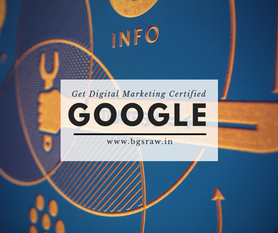 google fundamental course digital marketing certificate course, get certified now