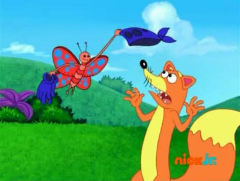 American top cartoons: Dora the explorer Swiper