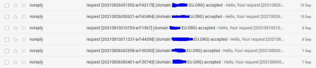 Bukti Domain Eu.org Diterima