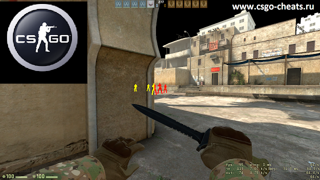 Wallhack чит для CS:GO(Counter-Strike: Global Offensive)