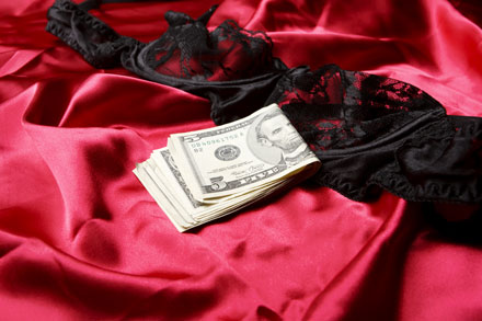 prostituée professionnelle