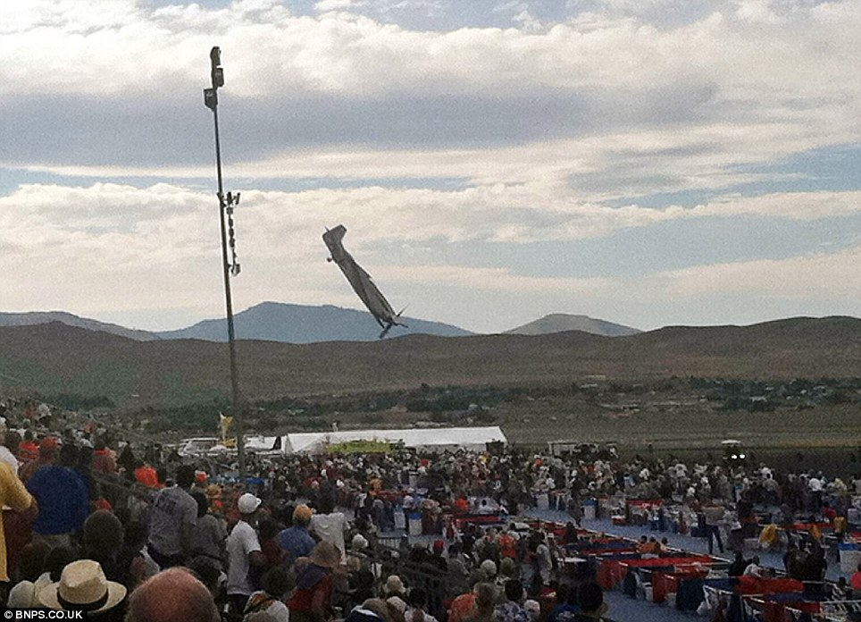 THIS IS THE CHRONICLES OF EFREM: Tragedy at Reno Air Show