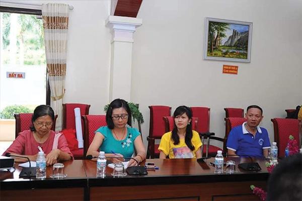 Thanh niên CLB CTCS Khát Vọng tham gia tọa đàm cùng ban TNKT TP Hà Nội.