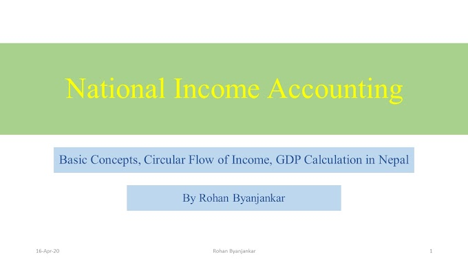 National Income Accounting: Online Class