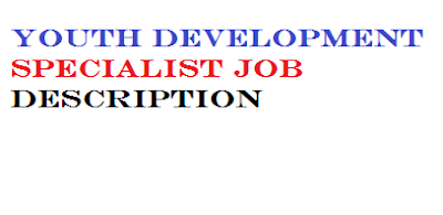 Youth Development Specialist Job Description