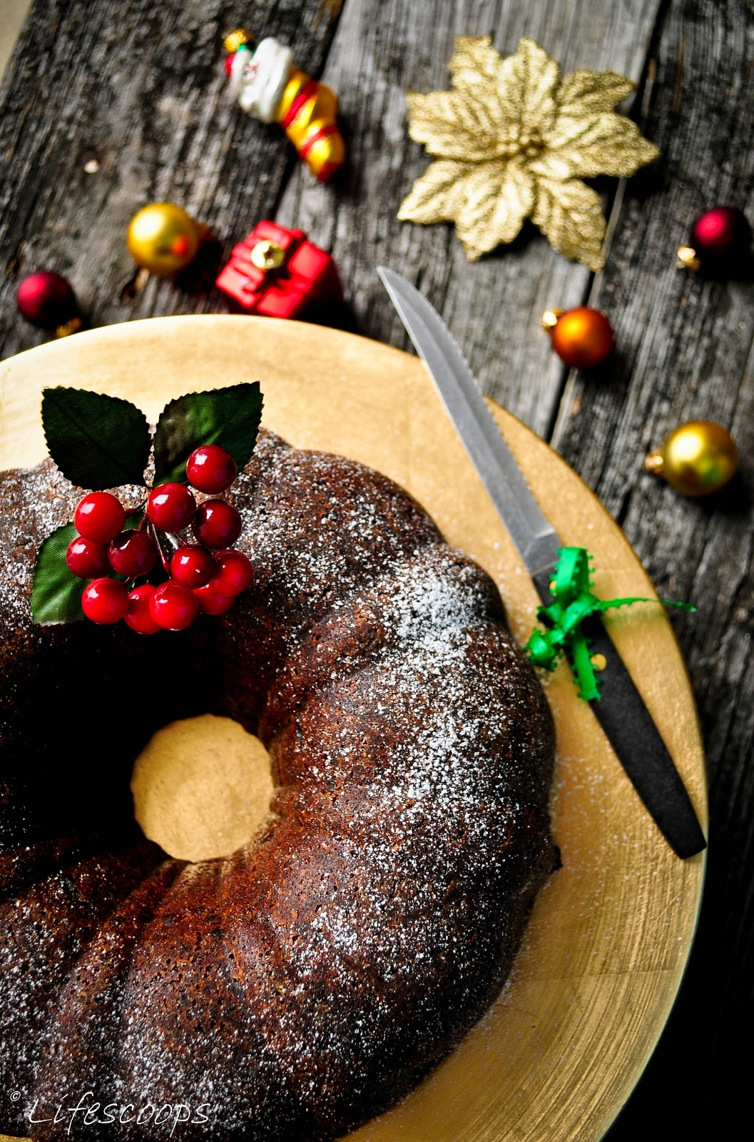 Life Scoops Christmas Fruit Cake Kerala Plum Cake