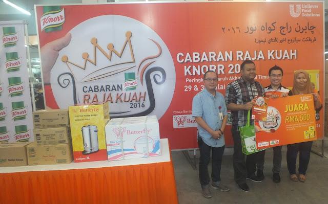 Pemenang Cabaran Raja Kuah Knorr