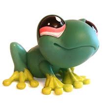 Littlest Pet Shop Dioramas Frog (#562) Pet