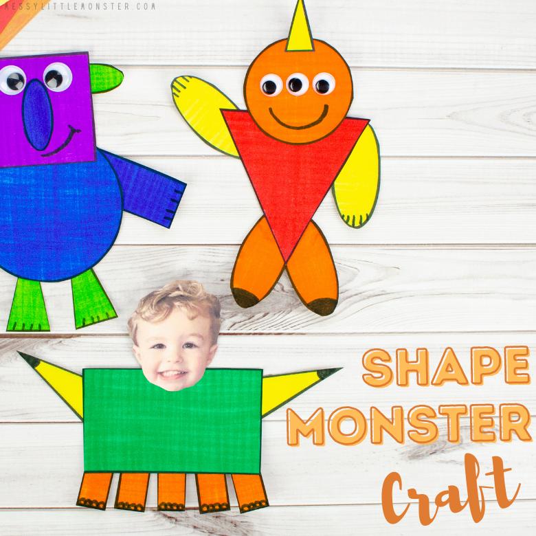 Shape monster craft
